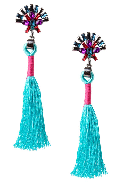 storets.com Fan Tassel Earrings