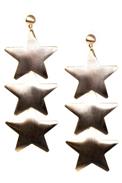 storets.com Bold Star Trio Earrings