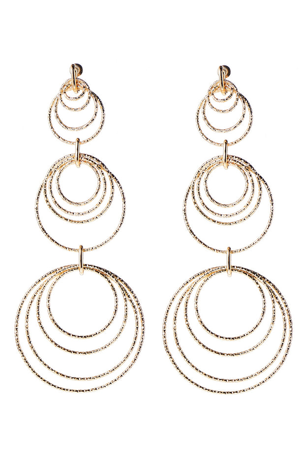 Circle Circle Double Earrings
