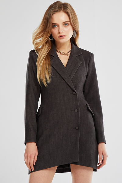 Evelyn Tailored Blazer Dress