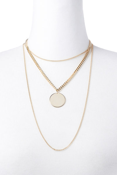 Chain Multirow Necklace