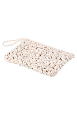 Straw Knot Clutch