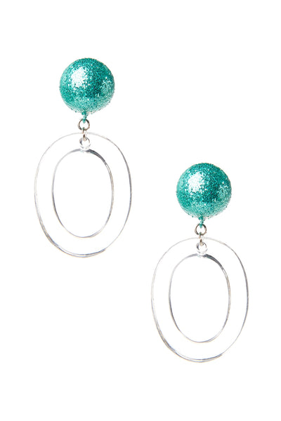 Mint Bangle Earring