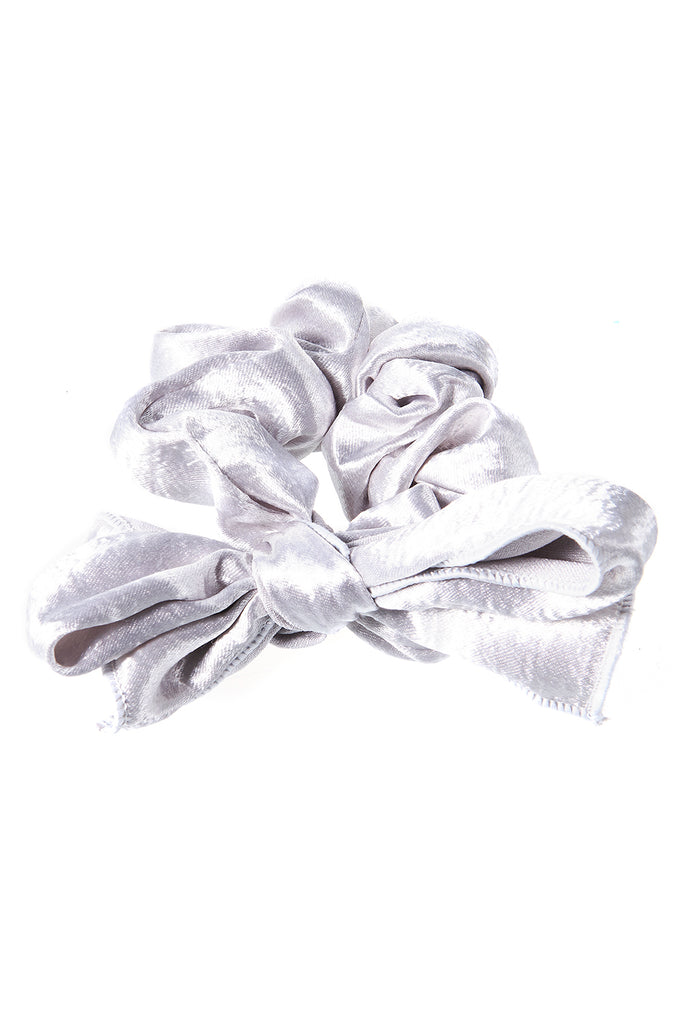 Ribbon Crumpled Hair Tie