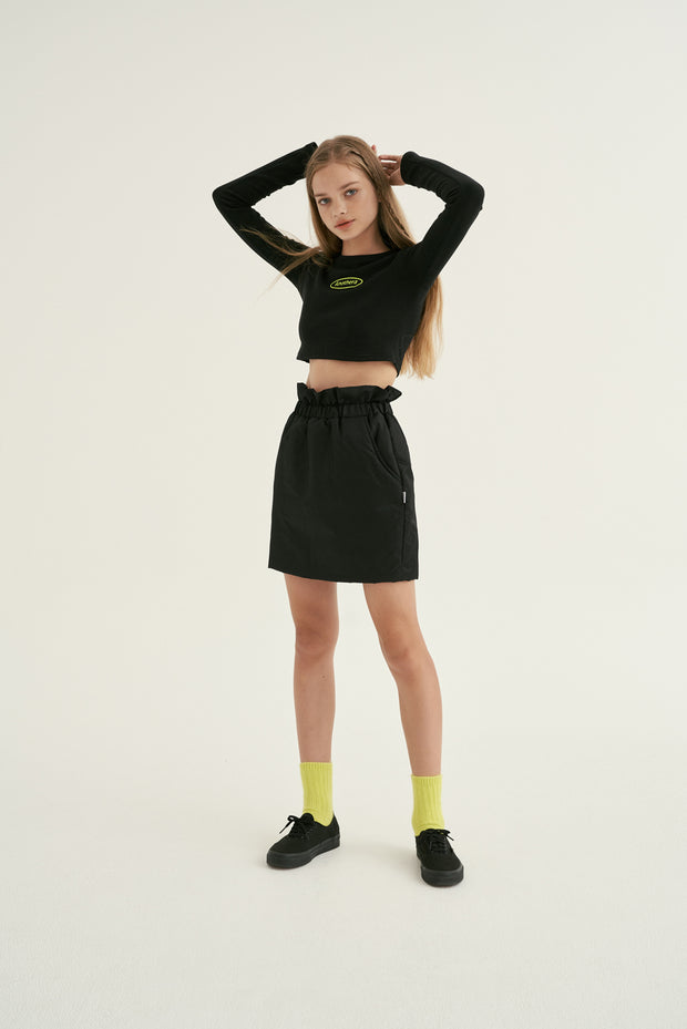 [ANOTHERA] MA-1 Shirring Skirt