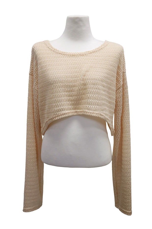 storets.com Leah Super Cropped Knit Top