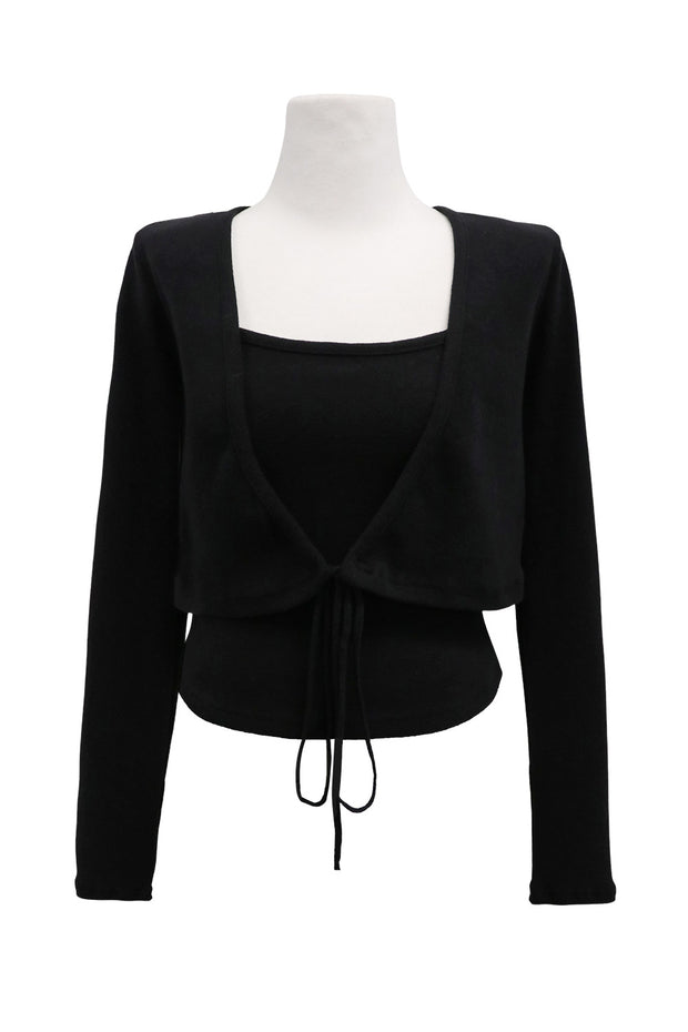 storets.com Bailey Cropped Cardigan 2-Piece Set