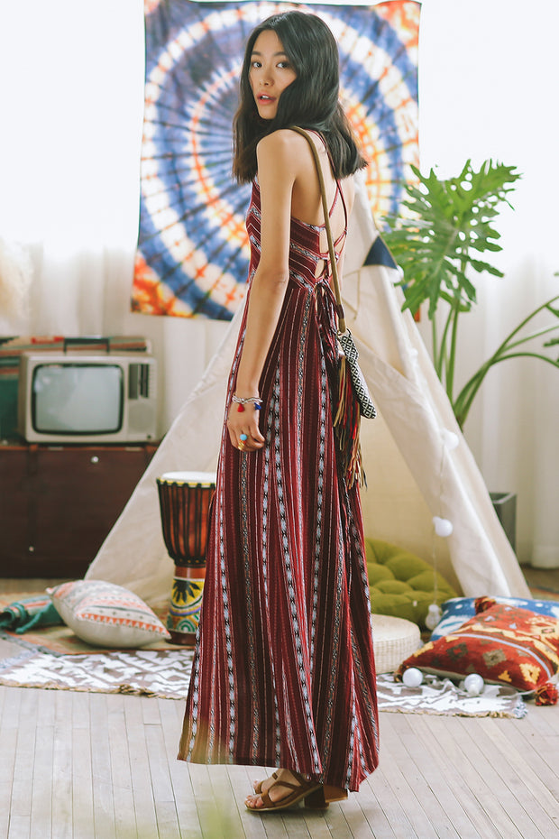 [Sincethen] Boho Print Cami Dress