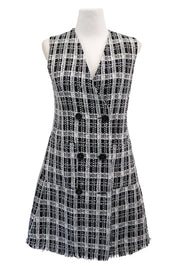 storets.com Aleena Tweed Double Breasted Dress