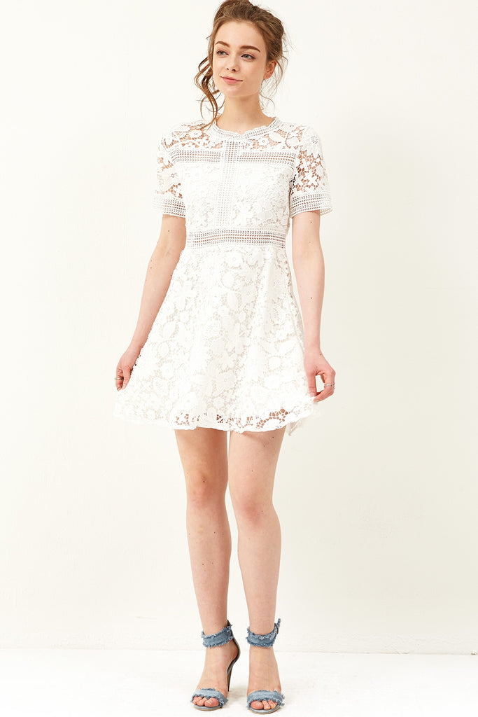 Jane Flower Lace Dress