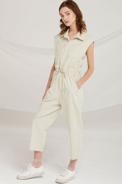 Mckinley Paperbag Waist Jumpsuit by STORETS