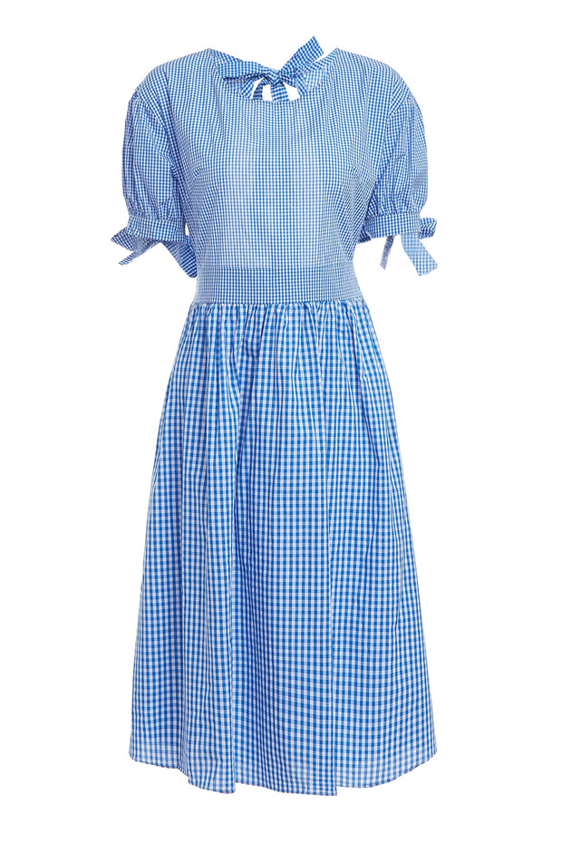 Dorothy Gingham Back Side Cut Out Dress