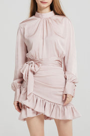 Kendall Satin Volume Blouse