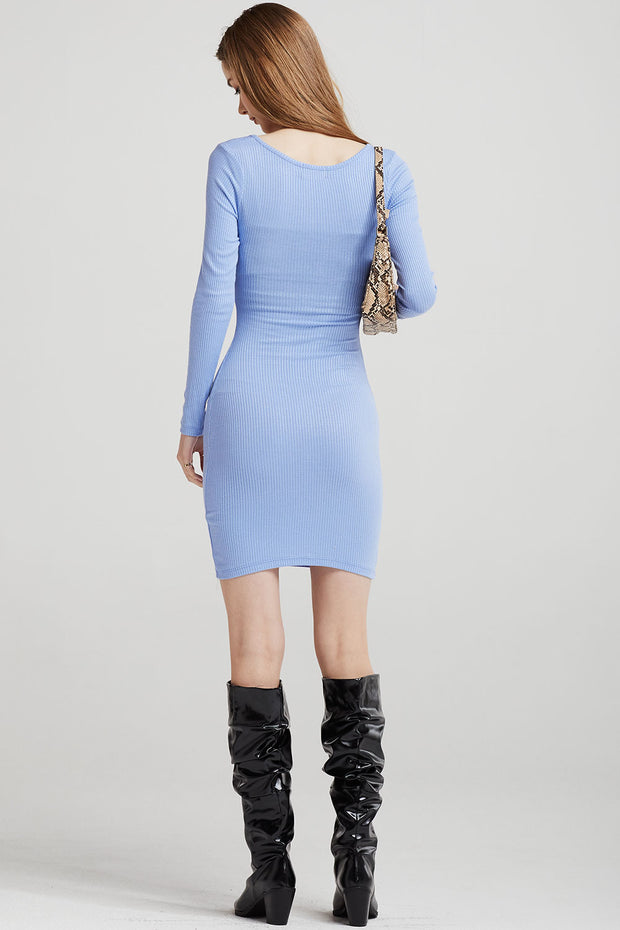 Mila Ribbed Bodycon Dress