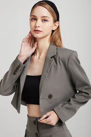 storets.com Olivia Cropped Suit Jacket