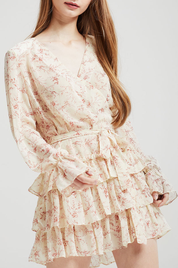 Sophie Floral Tiered Ruffle Dress