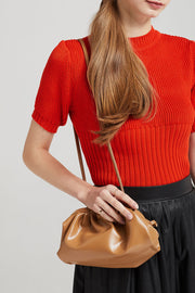 storets.com Shirring Detail Shoulder Bag