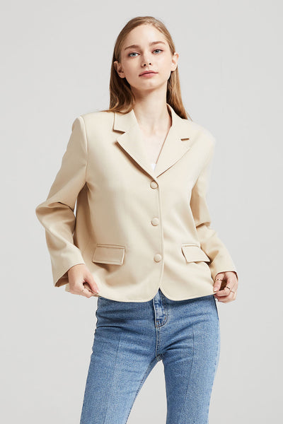 Avery Blazer w/Flap Pocket