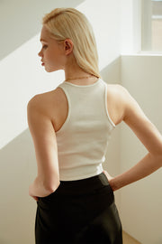 Mercy Ribbed Crop Tank Top