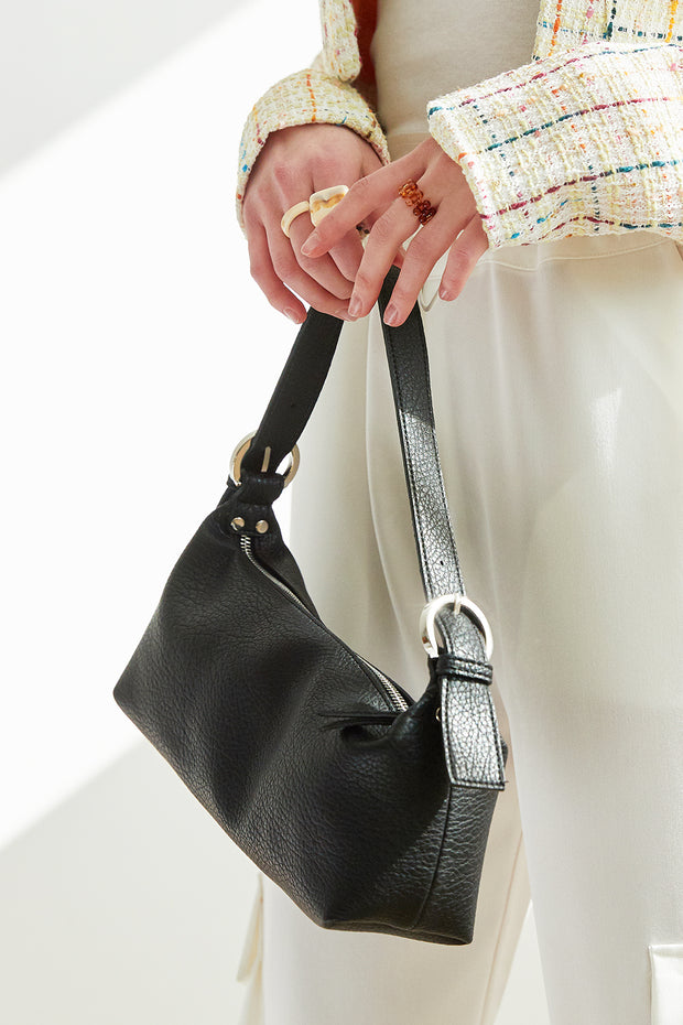 Pleather Purse Bag