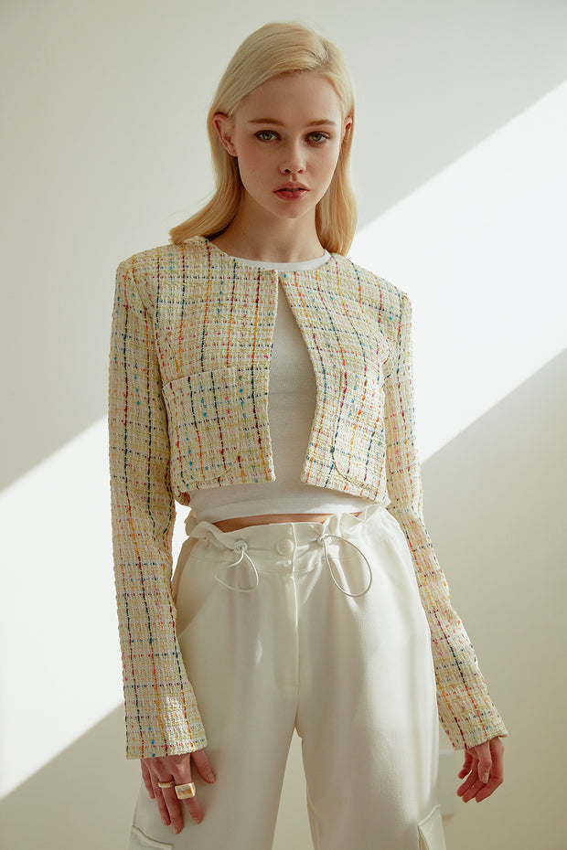 Owen Tweed Cropped Jacket