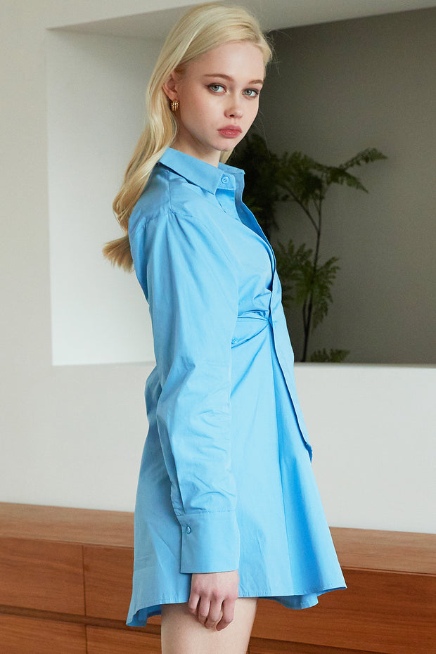 Jayda Wrap Shirt Dress