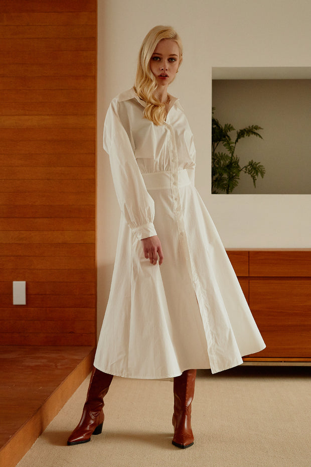 storets.com Marie Pintuck Shirt Dress