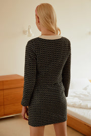 Lillian Tweed Crop Jacket