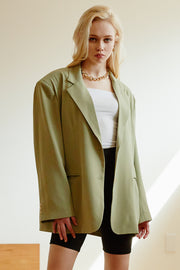Heavenly Boxy Blazer