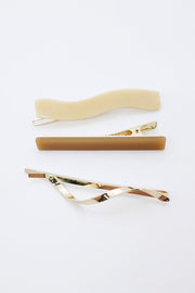 Wavy Hair Pin Set