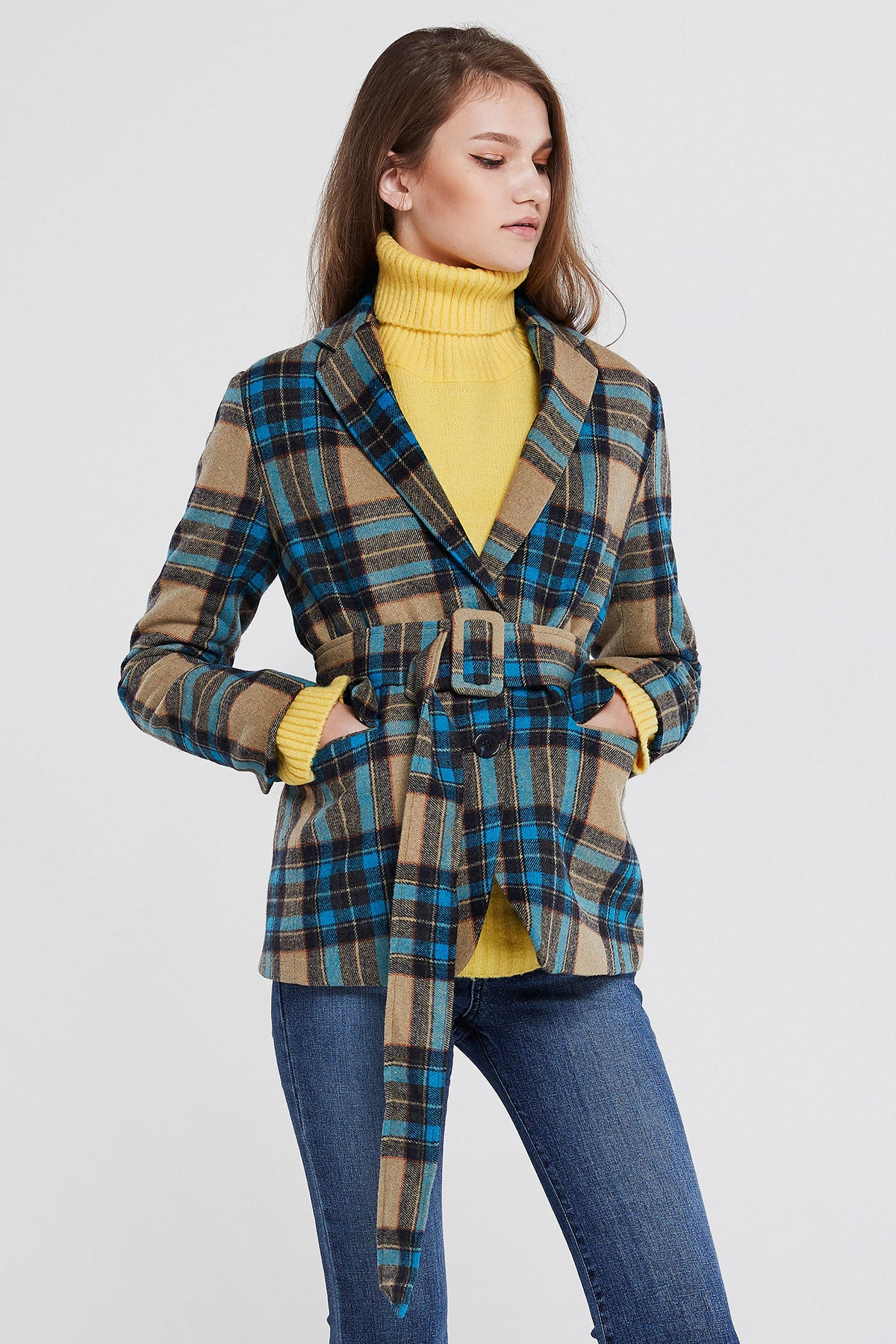 Bella Plaid Jacket