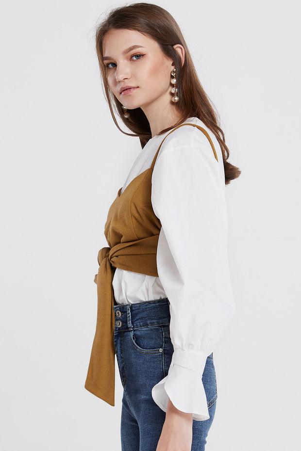 Estella Tie Around Top