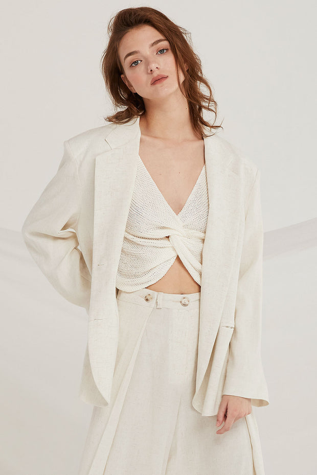 Addisyn Linen Jacket