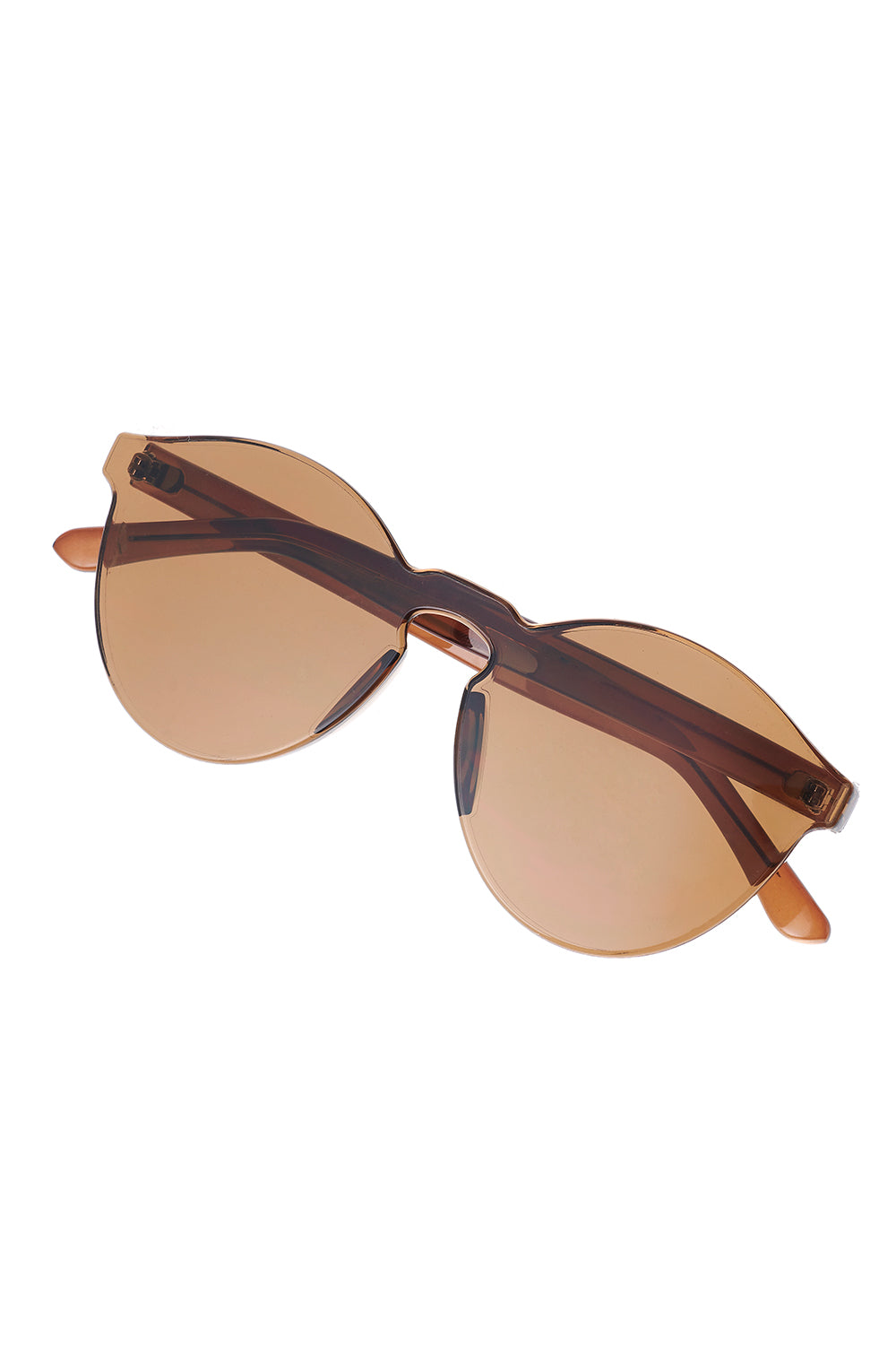 Whole Tinted Sunglasses-Brown