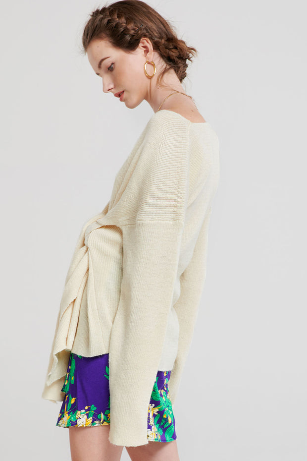 storets.com Gemma Tied Sweater-2 Colors
