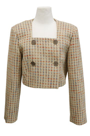 storets.com Teagan Cropped Tweed Jacket