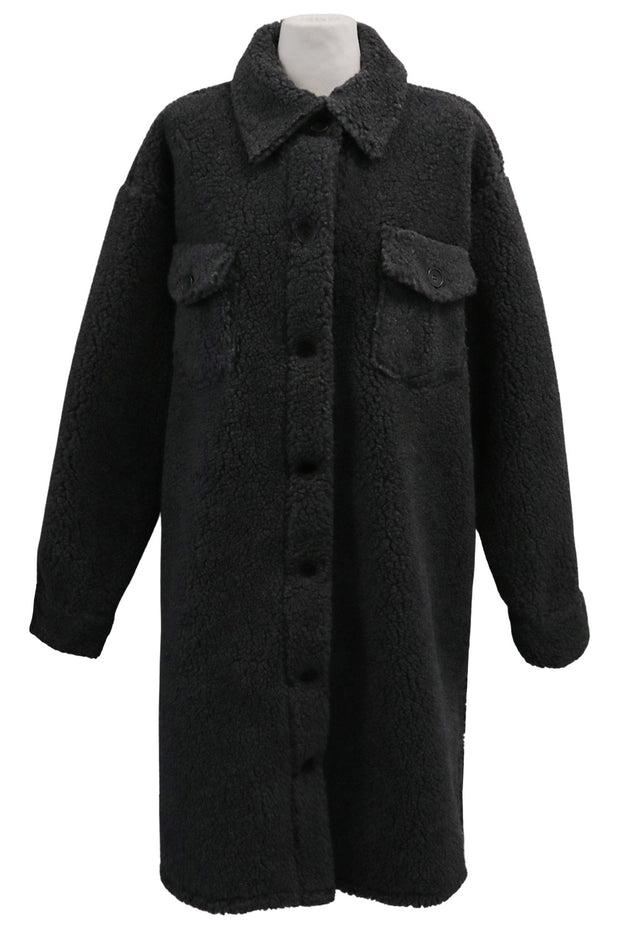 storets.com Faith Teddy Borg Coat