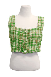 storets.com Ellie Tweed Cropped Top
