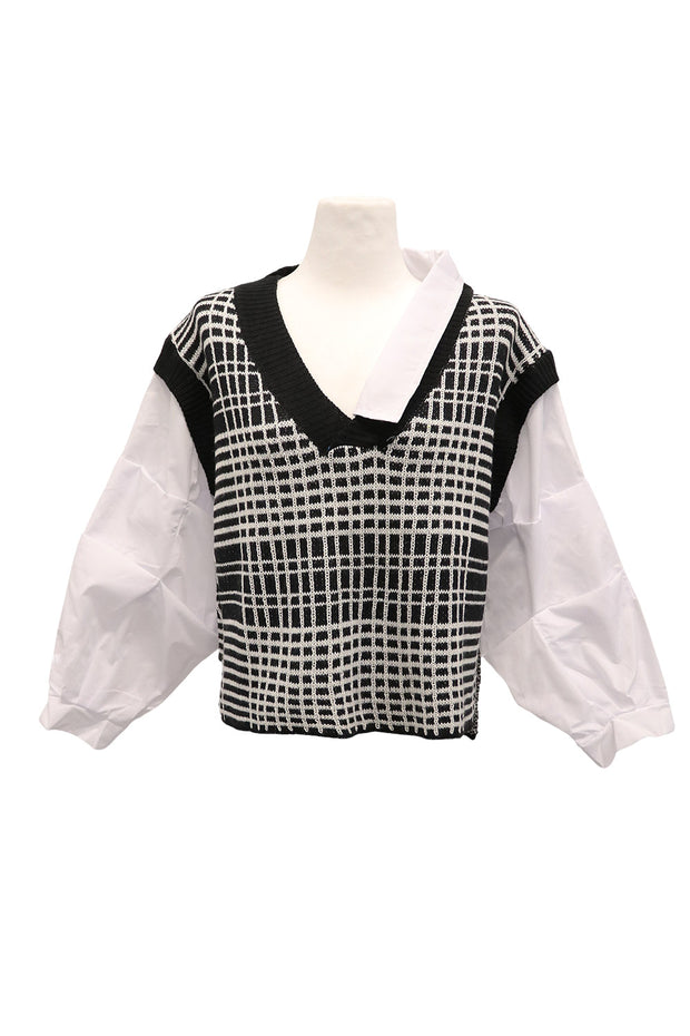 storets.com Adalyn Layered Vest Shirt