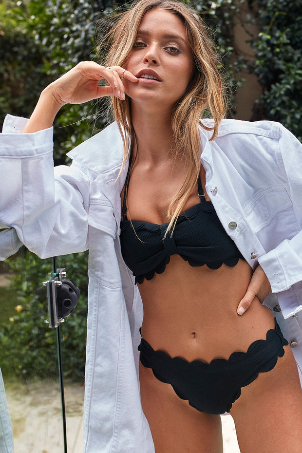 Aria Scalloped Bikini