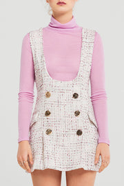 Molly Tweed Mini Dress