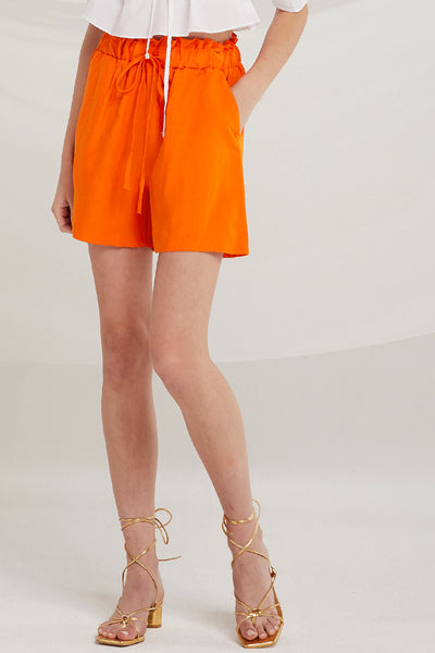 Legacy Paperbag Waist Shorts by STORETS