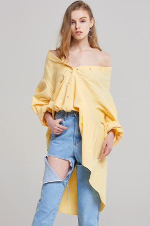 Jane Designer Sleeve Shirt