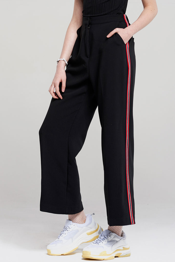 Eva Wide Side Stripe Pants
