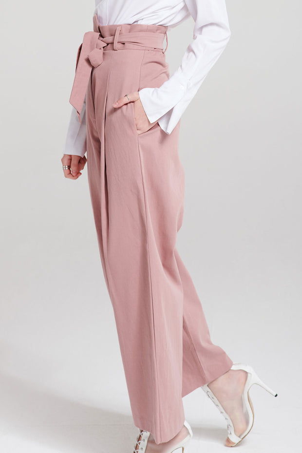 Anessa Uneven Wide Leg Pants