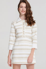 Jocelyn Stripe Collared Dress