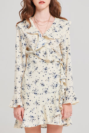 Toby Ruffled Floral Dress
