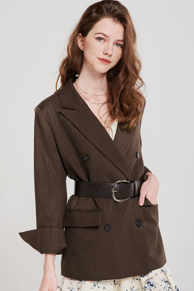 Chesley Double Breasted Blazer