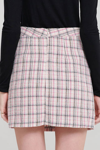Kimberly Plaid Skirt