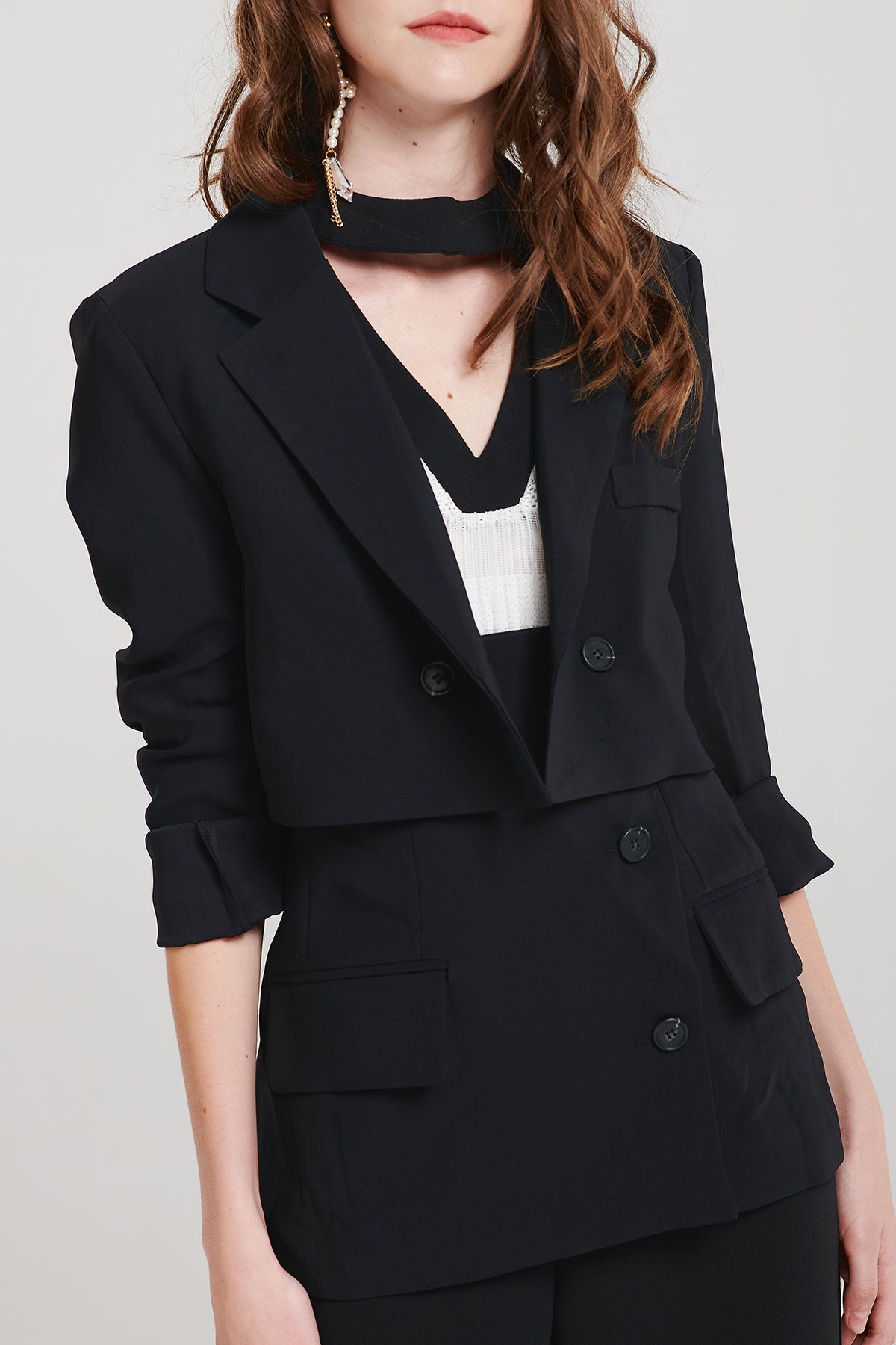 Libby Double Breasted Blazer